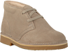 Beige CLARKS Veterschoenen DESERT BOOT KIDS  - small