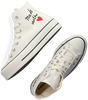 Witte CONVERSE Hoge sneaker CHUCK TAYLOR ALL STAR LIFT HI  - small