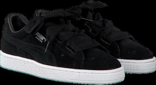 Zwarte PUMA Sneakers SUEDE HEART VALENTINE IN  - large