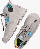 Grijze PALLADIUM Hoge sneaker OVERLAB NEON PAMPA K  - medium