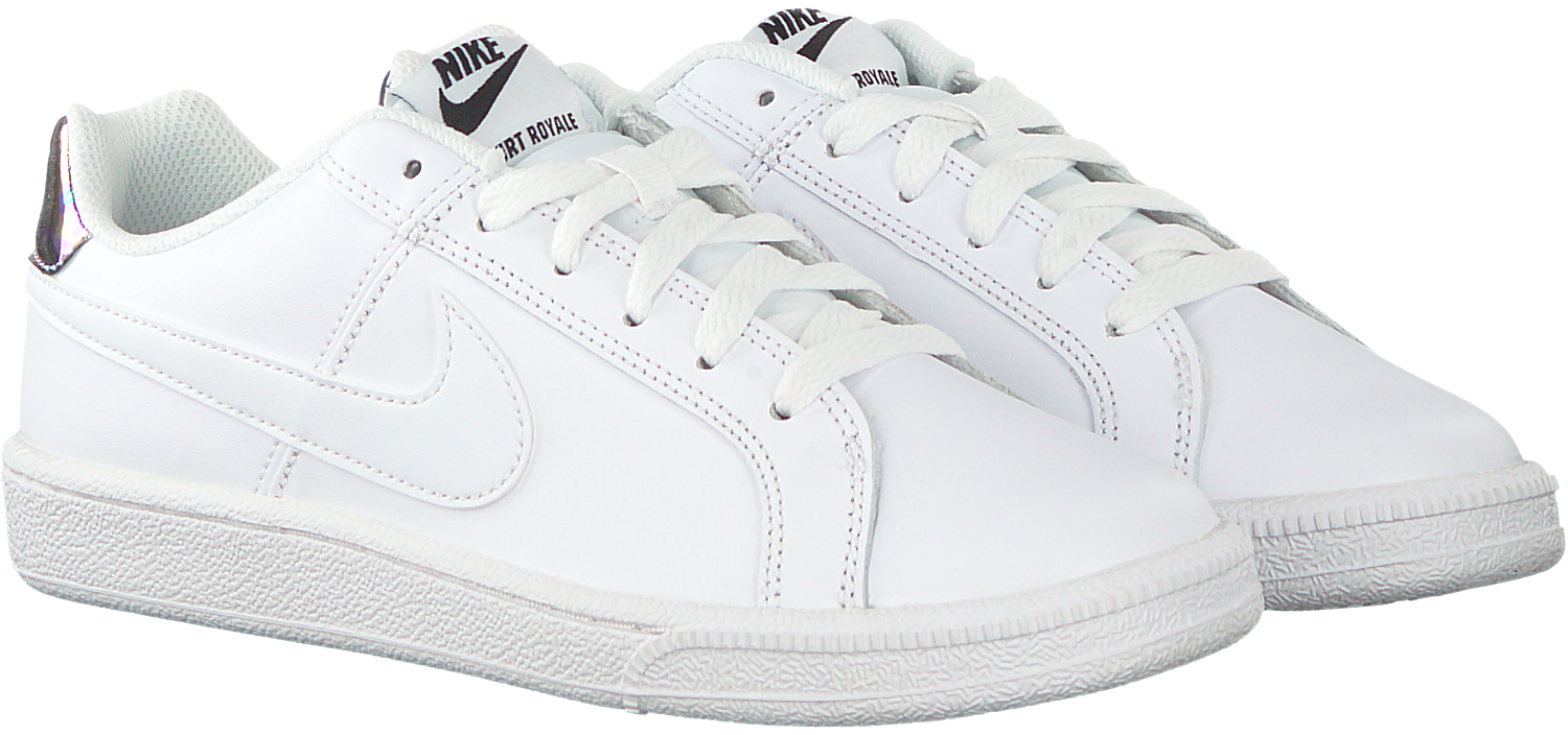 Witte NIKE Sneakers COURT ROYALE WMNS