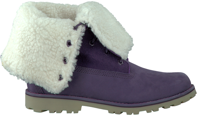 Paarse TIMBERLAND Enkelboots 6IN WP SHEARLING BOOT  - large