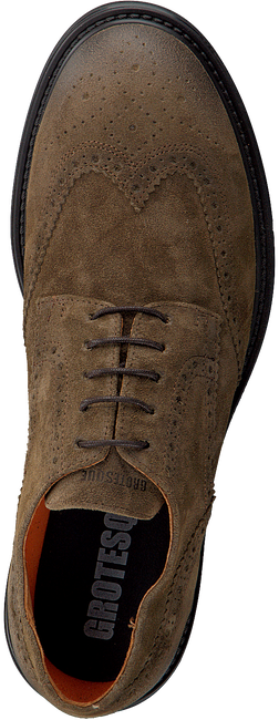 Taupe GROTESQUE Veterschoenen TRIPLEX 2  - large