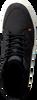 Zwarte HUB Hoge sneaker GLASGOW  - small