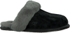 Zwarte UGG Pantoffels SCUFFETTE II  - small