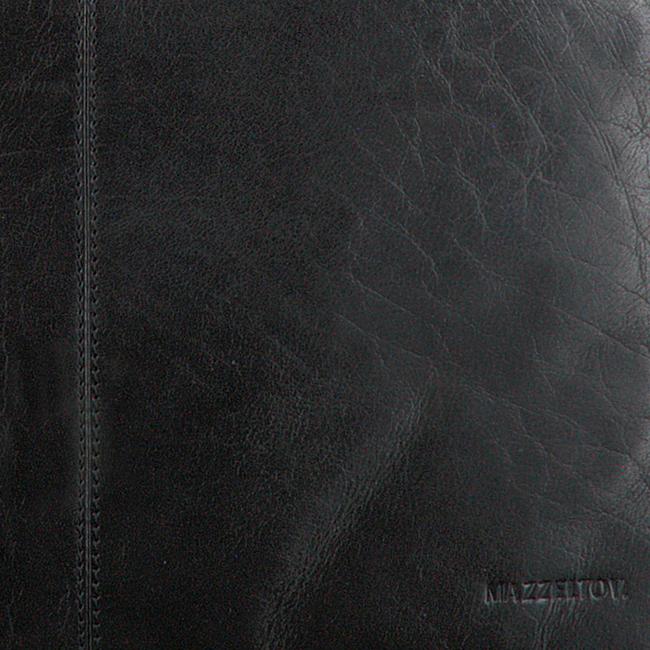 Zwarte MAZZELTOV Laptoptas XANDER-01 - large