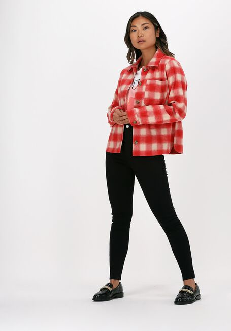 Zwarte NA-KD Skinny jeans SKINNY HIGH WAIST RAW HEM JEAN - large
