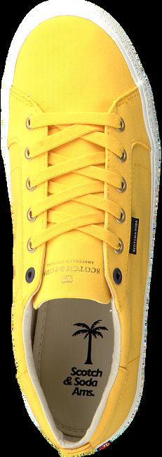 Gele SCOTCH & SODA Sneakers ABRA  - large
