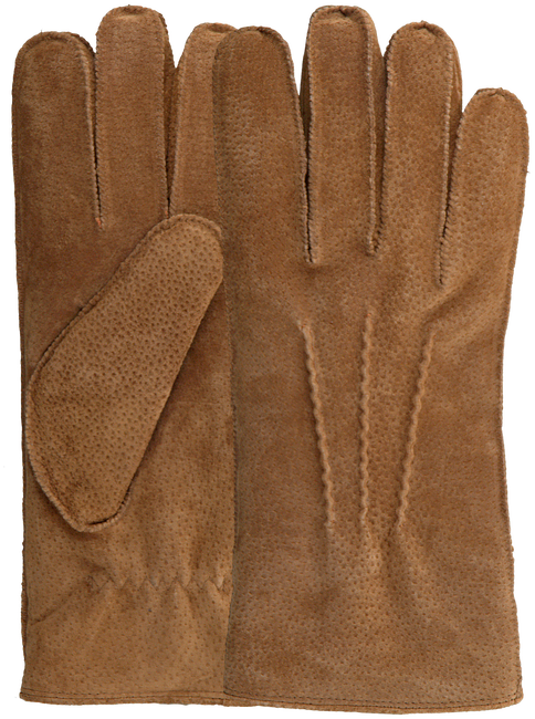 Cognac WARMBAT Handschoenen GLOVES MEN  - large