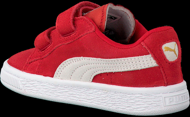 Rode PUMA Sneakers SUEDE 2 STRAPS   Omoda