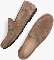 Beige VAN BOMMEL Loafers 15043  - medium