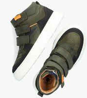 Groene DEVELAB Hoge sneaker 41953  - medium