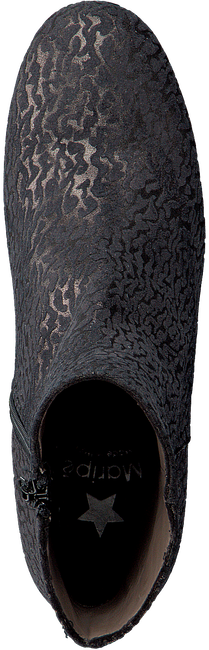 Zwarte MARIPE Enkellaarsjes 25044 - large