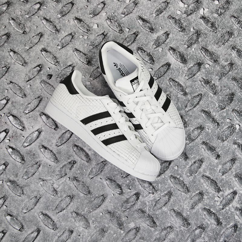 Witte ADIDAS Sneakers SUPERSTAR DAMES