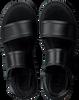 Zwarte G-STAR RAW Sandalen CORE STRAP FLAT DAMES  - small