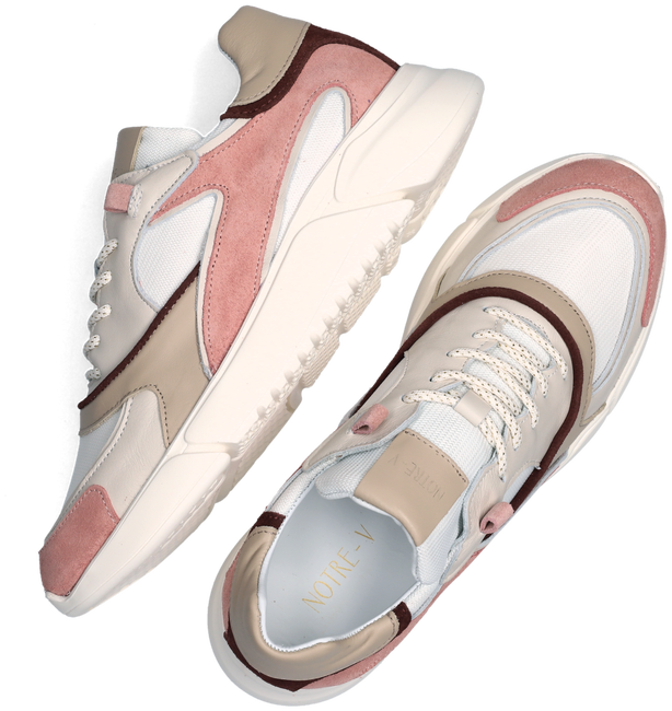 Roze NOTRE-V Lage sneakers J5314B  - large