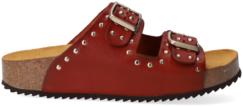 Cognac RED-RAG Slippers 78120  - larger
