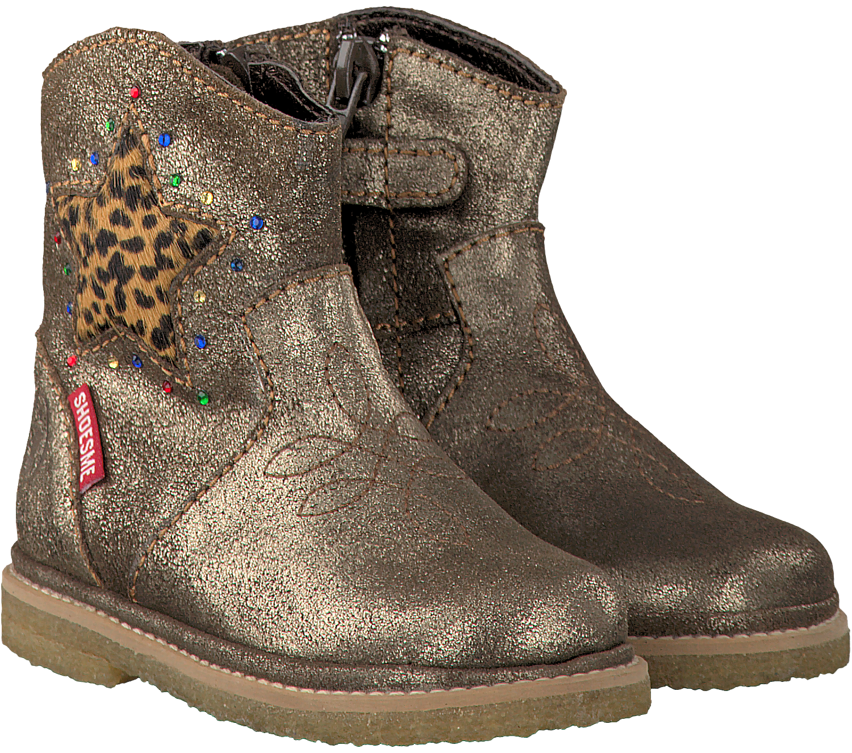 Bronzen SHOESME Lange laarzen BC5W016C | Omoda