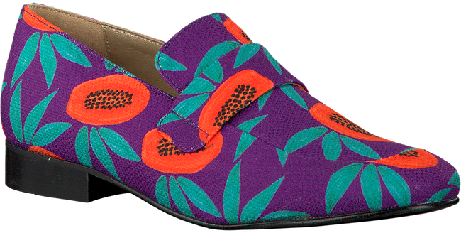 Paarse FABIENNE CHAPOT Loafers LOLA LOAFER CANVAS - large