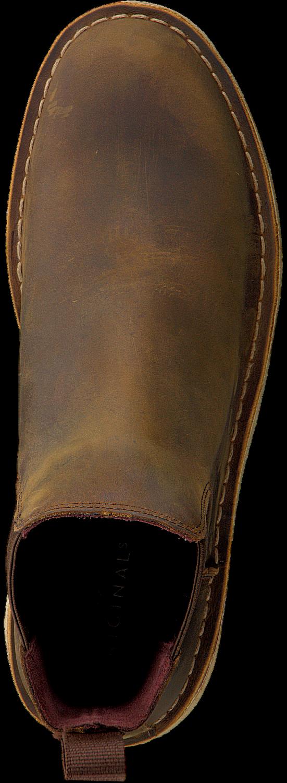 Bruine CLARKS Chelsea boots DESERT PEAK Omoda