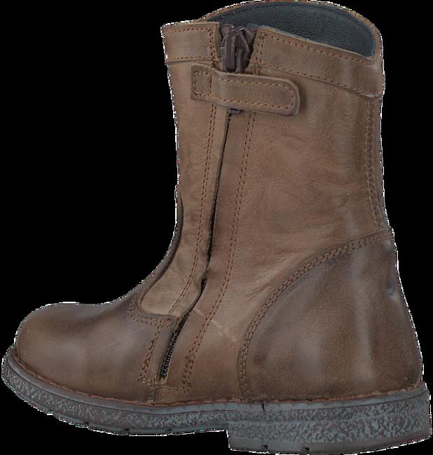 Bruine JOCHIE & FREAKS Lange laarzen 16156  - large