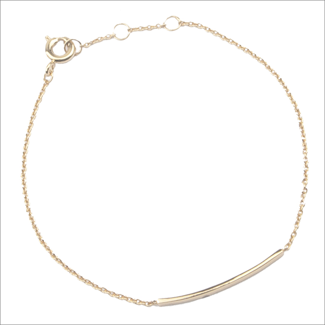 Gouden ATLITW STUDIO Armband SOUVENIR BRACELET BAR - large