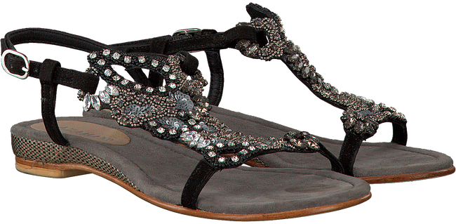 Zwarte LAZAMANI Sandalen 85.101  - large