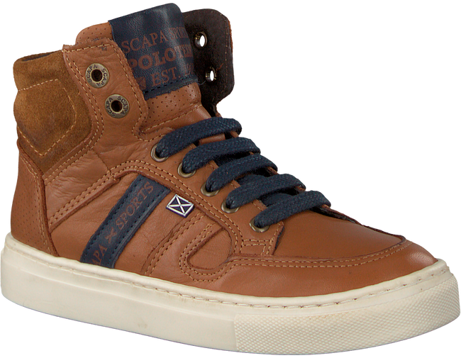 Cognac SCAPA Sneakers 61755 - large