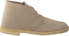 Beige CLARKS Veterschoenen DESERT BOOT MEN  - small