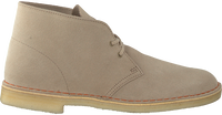 Beige CLARKS Veterschoenen DESERT BOOT MEN  - medium