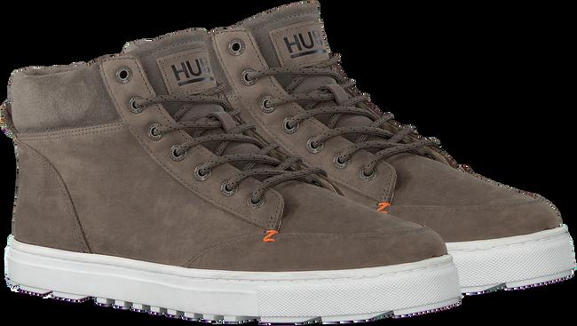 Grijze HUB Hoge sneaker GLASGOW  - large