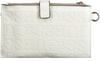 Witte GUESS Portemonnee BRIGHTSIDE SLG DBL ZIP ORGNZR - small