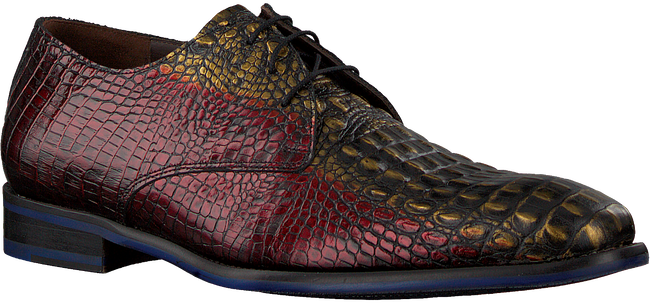 Rode FLORIS VAN BOMMEL Nette schoenen 18167  - large