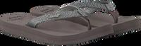 Grijze REEF Slippers STAR CUSHION SASSY  - medium
