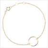 Gouden ATLITW STUDIO Armband SOUVENIR BRACELET CIRCLE - small