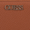 Cognac GUESS Portemonnee ALBY SLG LARGE ZIP AROUND  - small