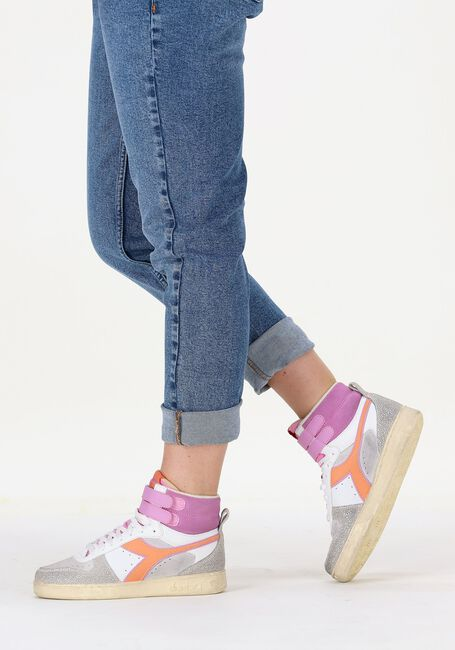 Beige DIADORA Hoge sneaker MAGIC BASKET MID ICONA WOMAN  - large