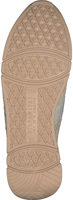 Witte HISPANITAS Lage sneakers RHV00017 KIOTO  - large