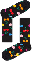 Zwarte HAPPY SOCKS Sokken CHERRY - medium