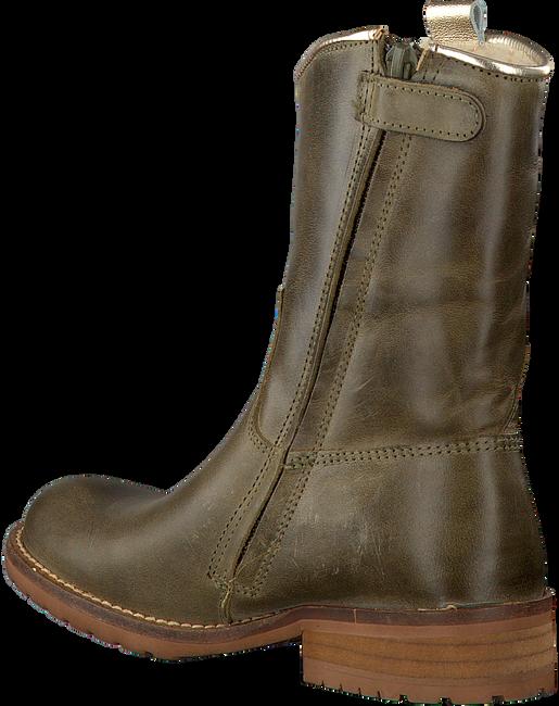 Groene HIP Lange laarzen H2323  - large