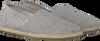 Grijze TOMS Espadrilles CLASSIC ROPE SOLE - small