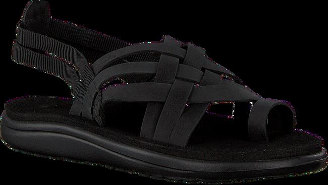 Zwarte TEVA Sandalen W VOYA STRAPPY  - large