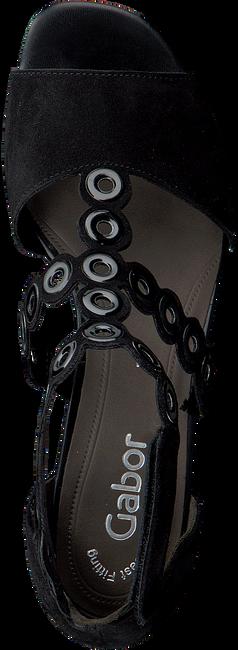 Zwarte GABOR Sandalen 721 - large