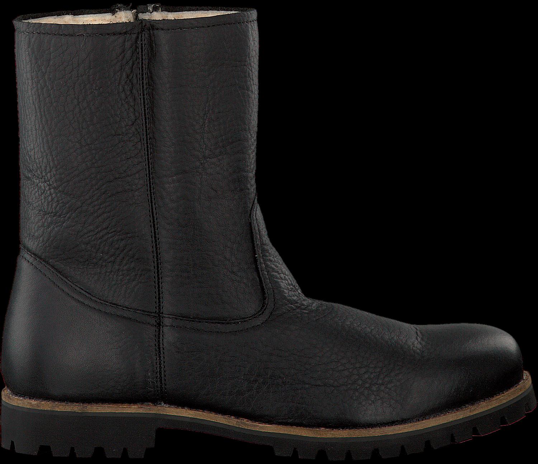 Zwarte BLACKSTONE Lange laarzen OM21 Omoda.nl