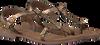 Gouden LAZAMANI Sandalen 75.501 wnIXEb9x