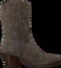 Taupe RED-RAG Enkellaarsjes 77152  - small
