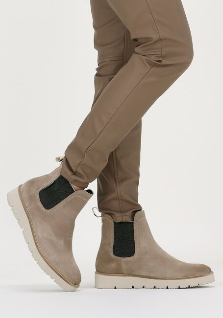 Beige FLORIS VAN BOMMEL Chelsea boots 85692  - large