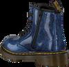 Blauwe DR MARTENS Veterboots 1460 GLITTER T/J - small
