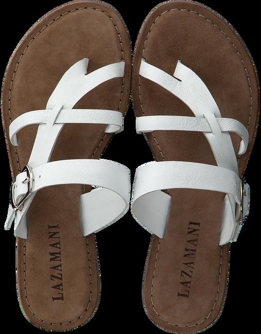 Witte LAZAMANI Slippers 75.608  - large