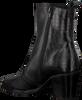 Zwarte ROBERTO D'ANGELO Enkellaarsjes LISA  - small
